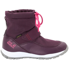 Jack Wolfskin Kiwi WT Texapore Chaussures Enfant, purple/pink